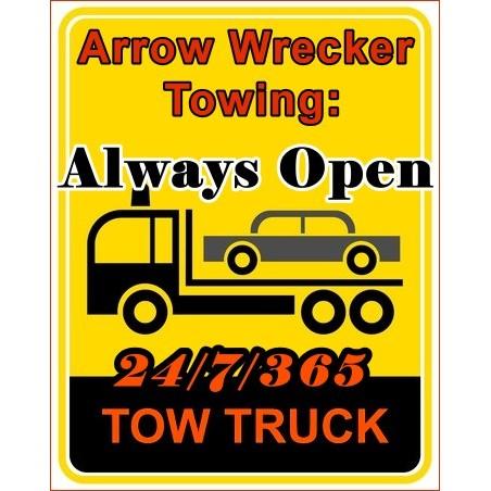 Arrow Wrecker Service - Oklahoma City, OK - Auto Towing & Wrecking