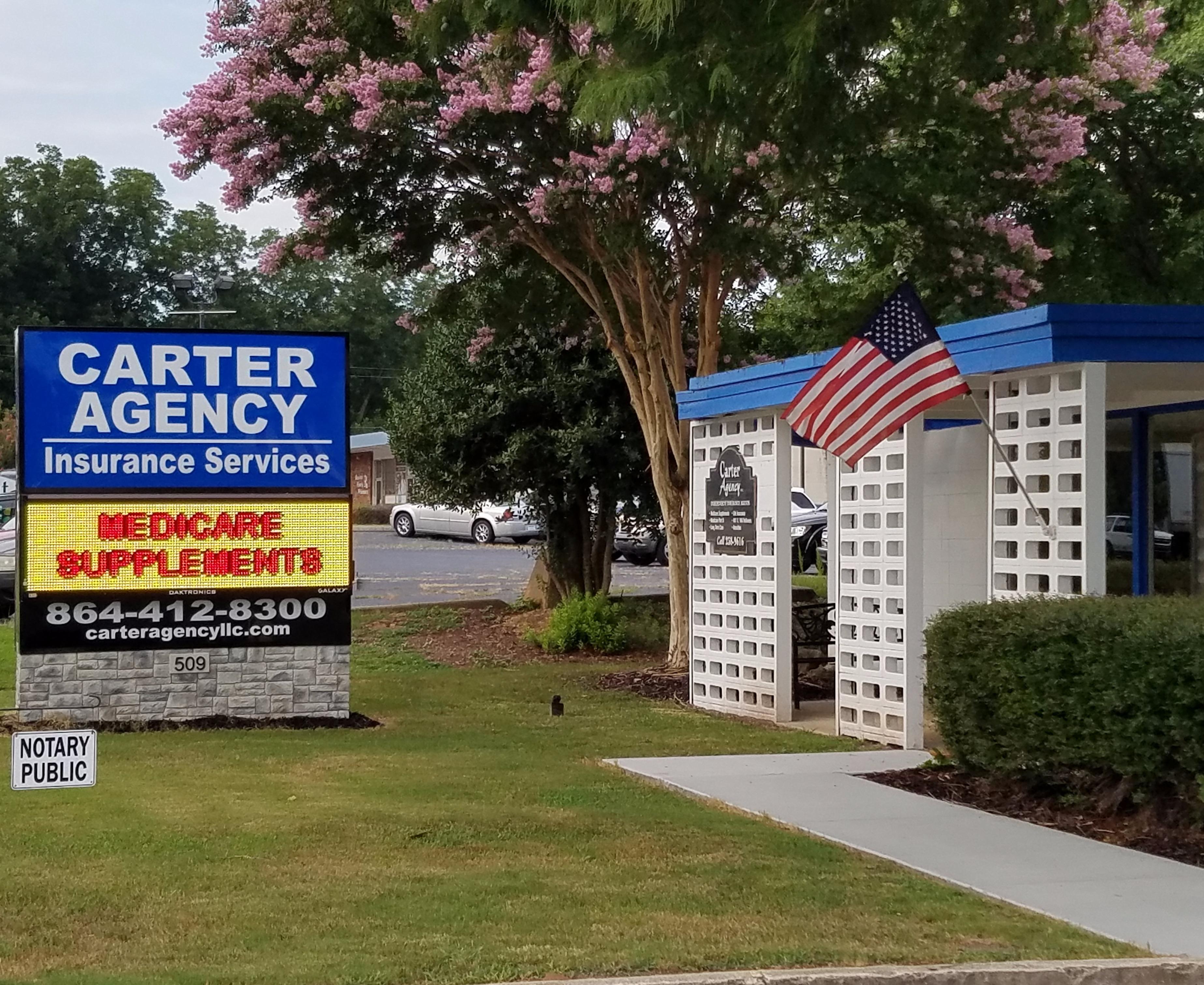 Carter agency insurance services in mauldin sc 864 for Motor mile greenville sc