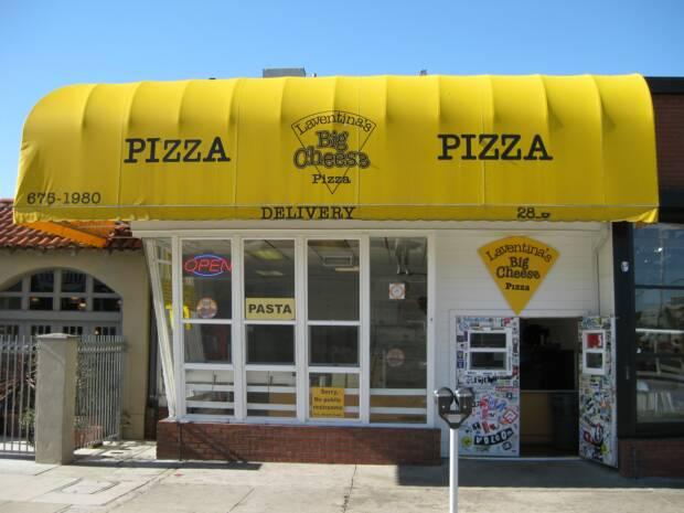 Laventina S Big Cheese Pizza Newport Beach Ca