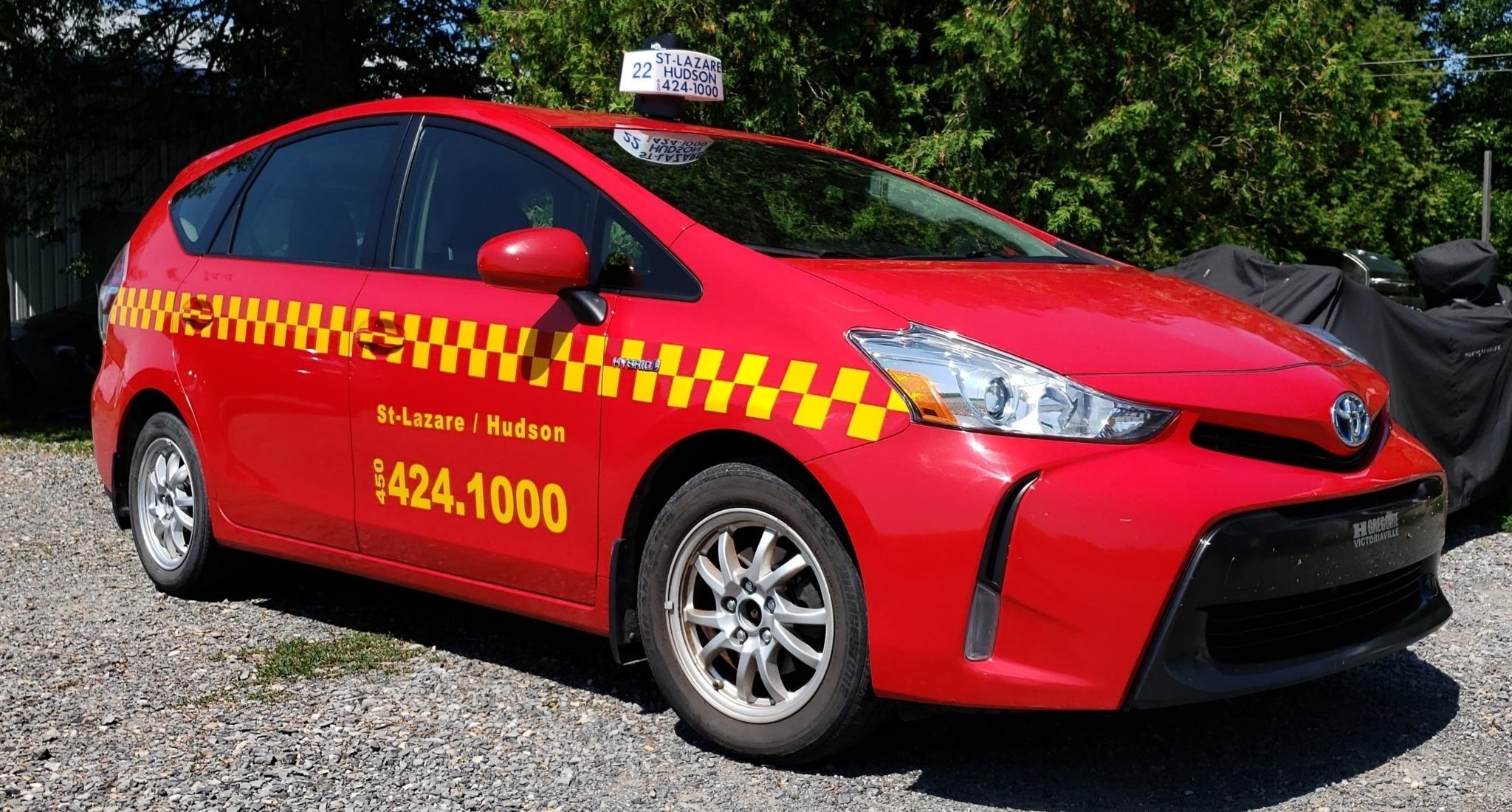 Taxi Saint-Lazare Hudson à Saint-Lazare