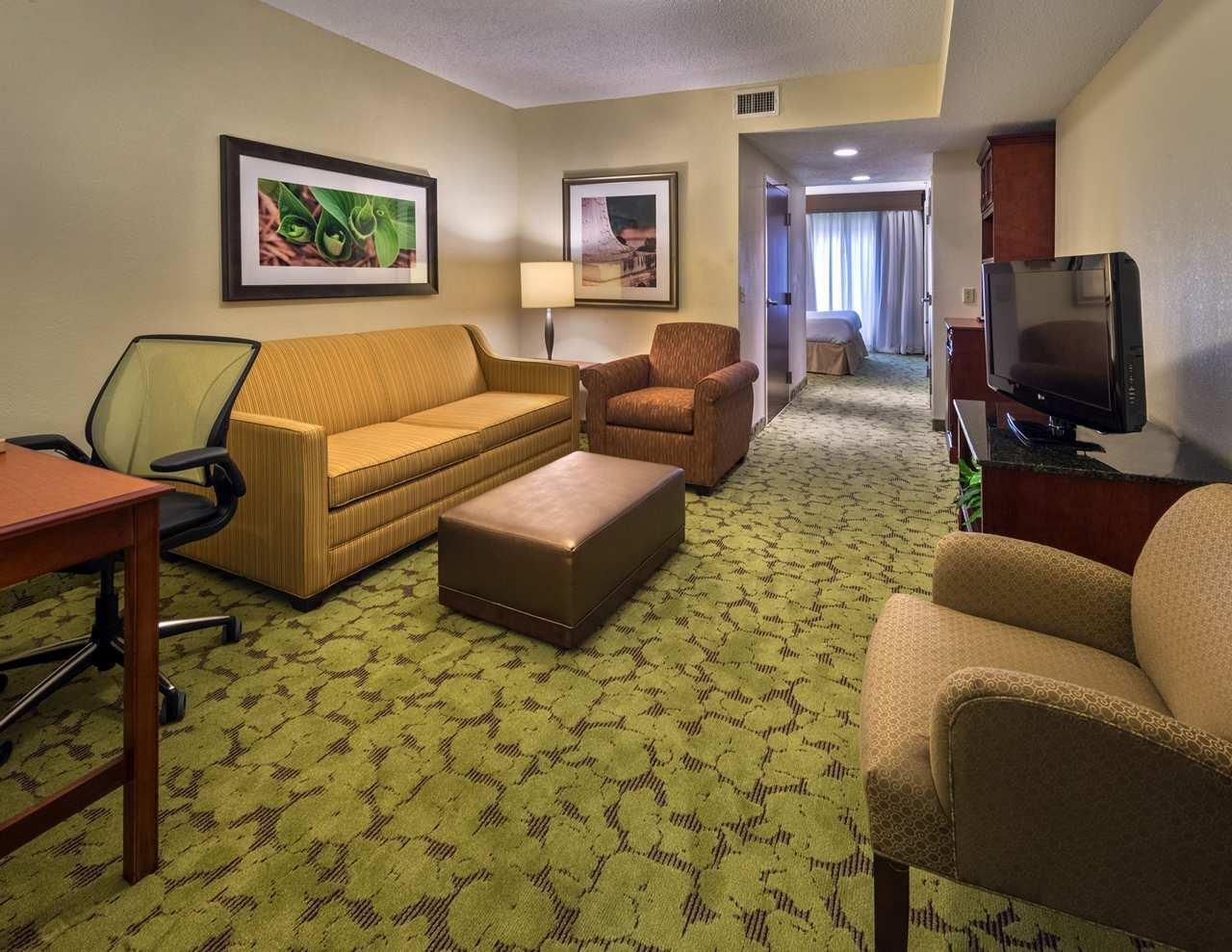 1 King Bed Junior Suite Living Area