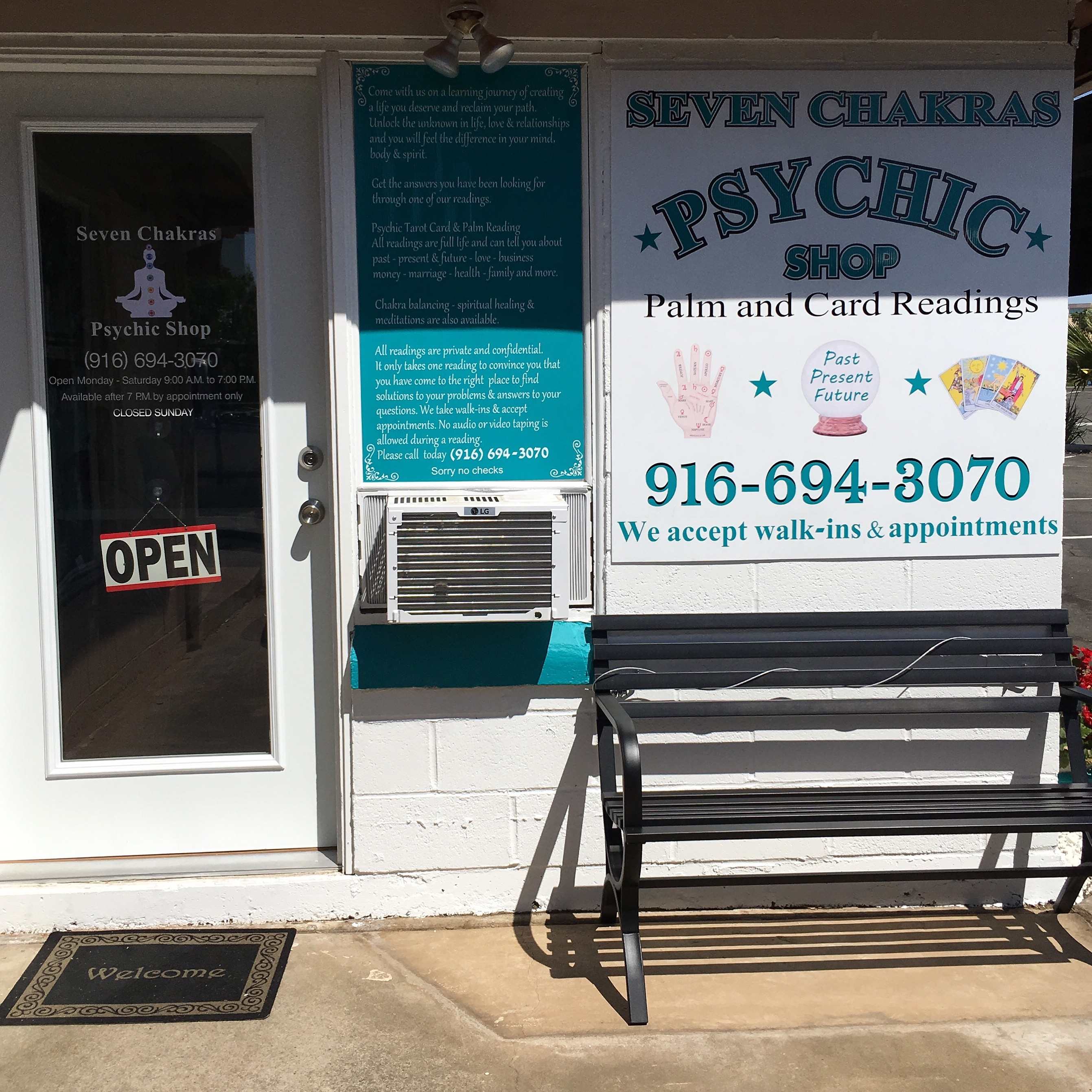 Seven chakras psychic shop image 1
