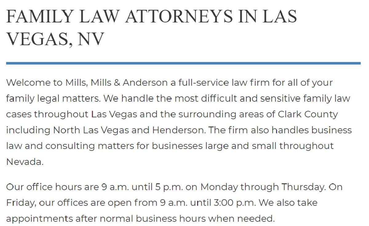 Mills & Anderson in Las Vegas, NV, photo #25