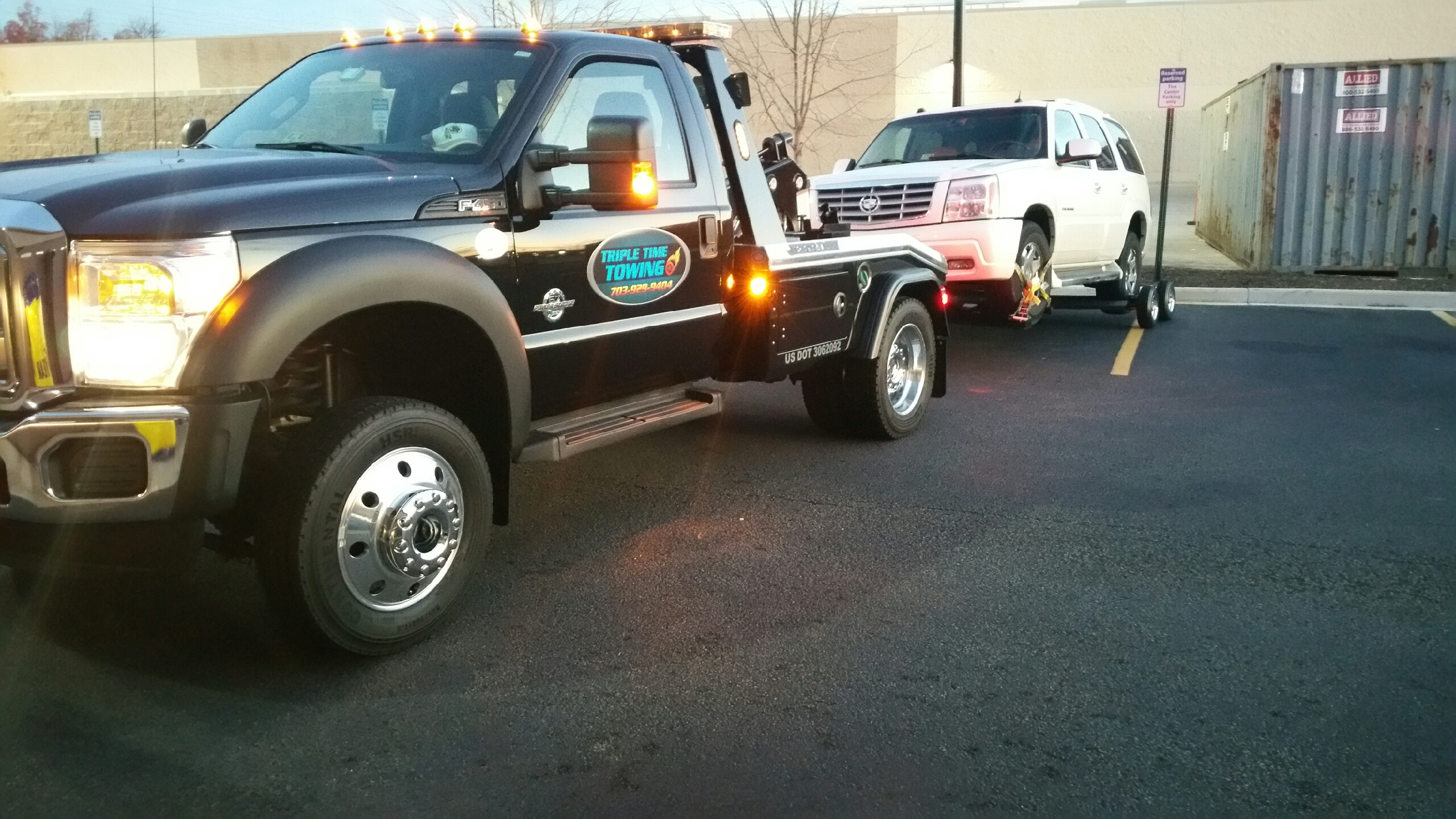 Triple Time Towing image 0