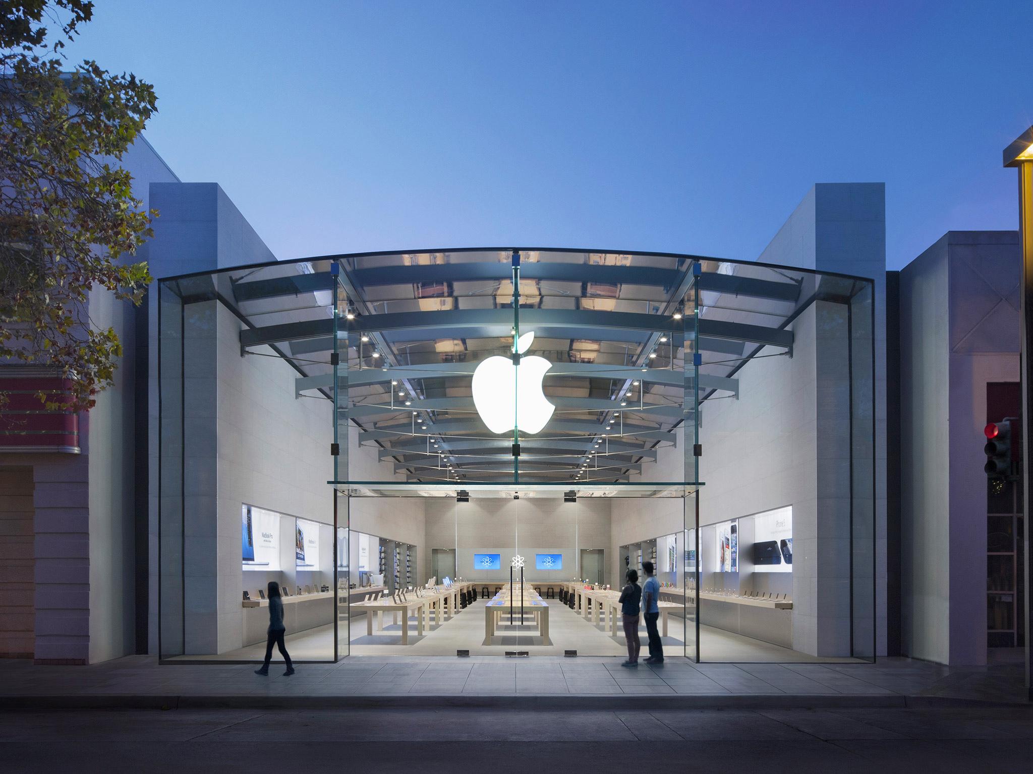 Apple palo alto at 340 university avenue palo alto ca on for Park avenue motors mercedes benz palo alto