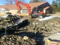 Water leaks under concrete. We will fix the plumbing leak and put the concrete back too. AAA City Plumbing wants to be your one stop plumber. We do it all so you don't have to.