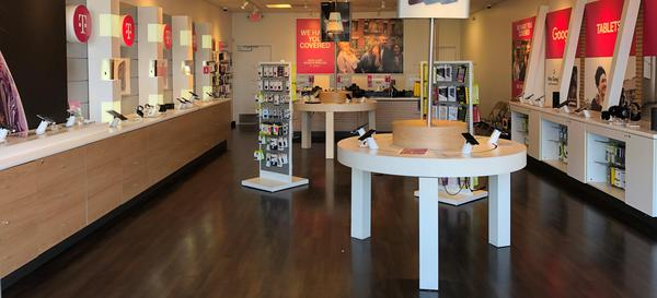 Interior photo of T-Mobile Store at John R & Whitcomb, Madison Heights, MI