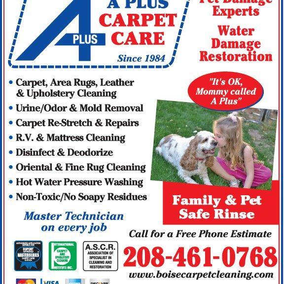 A Plus Carpet Care