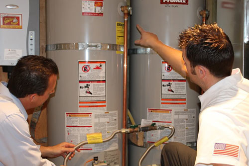Water Heater Install