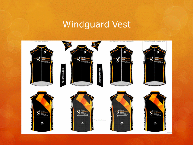 Human Performance Centre in Saint John: Are you in need of some HPC active wear? We can help!   Here is our Windguard Vest.