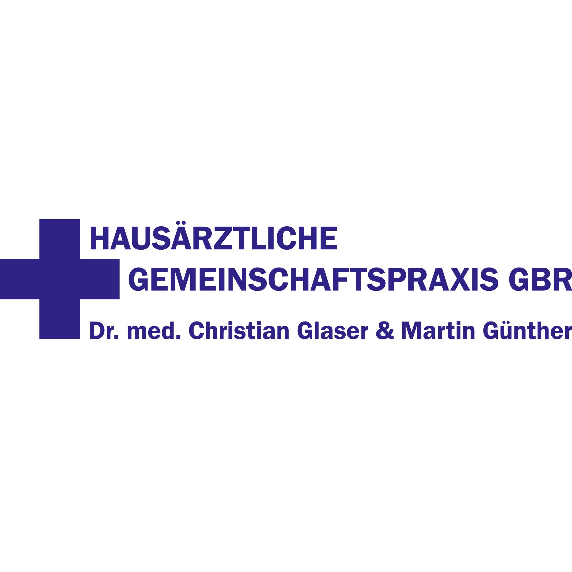 Logo von Hausärztliche Gemeinschaftspraxis GbR - Dr. med. Christian Glaser & Martin Günther