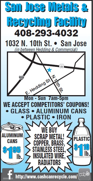 Recycling center coupons