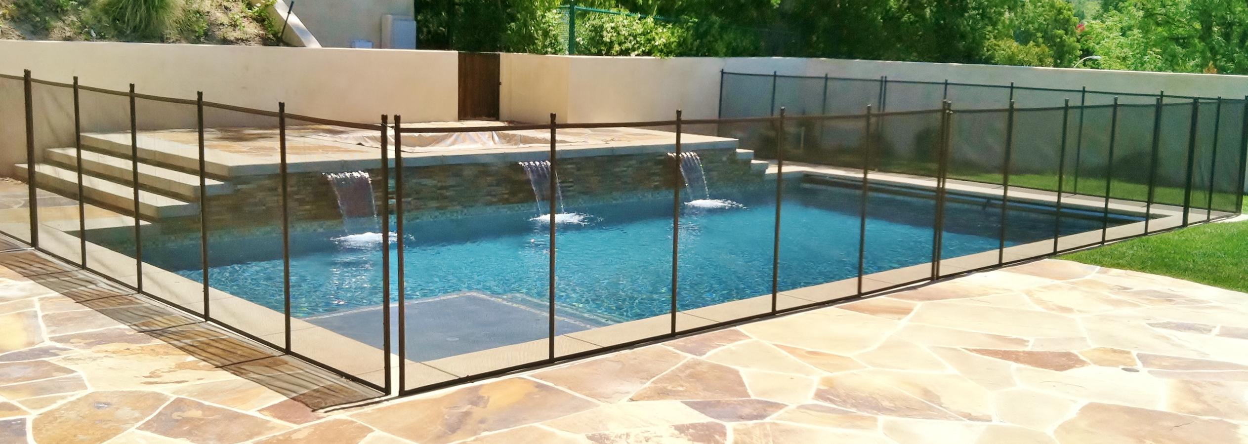 Safeguard Mesh Glass Pool Fence Company Coupons Near Me