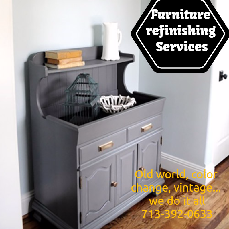 Furniture refinishing services in houston tx 713 467 2 for Z furniture houston