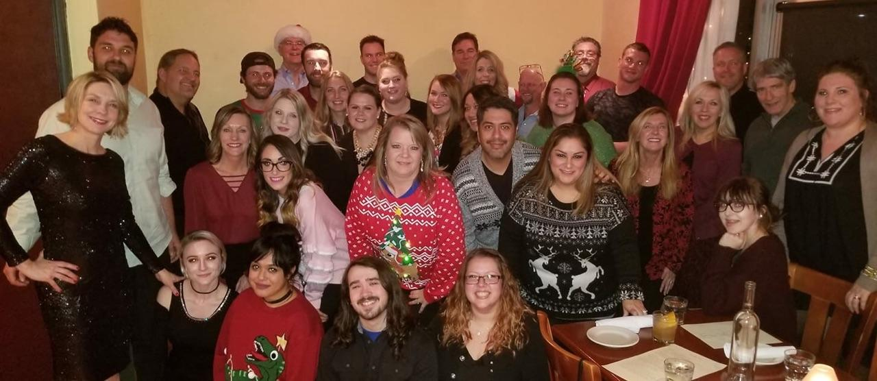 Our team holiday gathering!