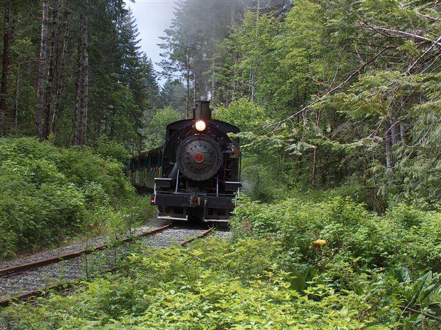Best Western Plus Barclay Hotel in Port Alberni: Steam Train to historic McLeans Mill.