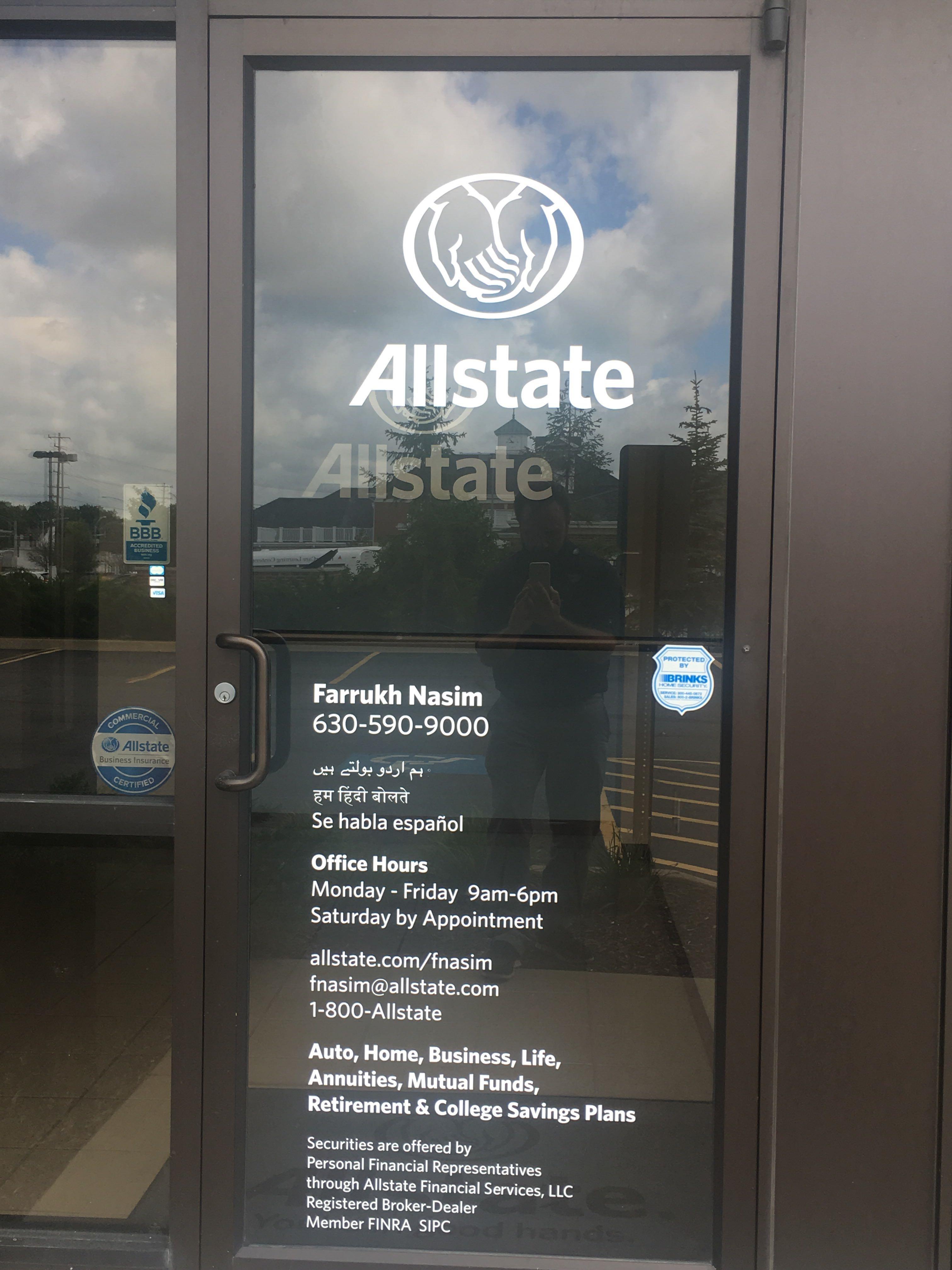 Farrukh Nasim: Allstate Insurance image 1