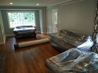 All furniture is either quilt or shrink wrapped in the house before the move to ensure that items remain in the same condition. Rugs are rolled up and placed in the truck last to ensure they are the first items  rolled out..