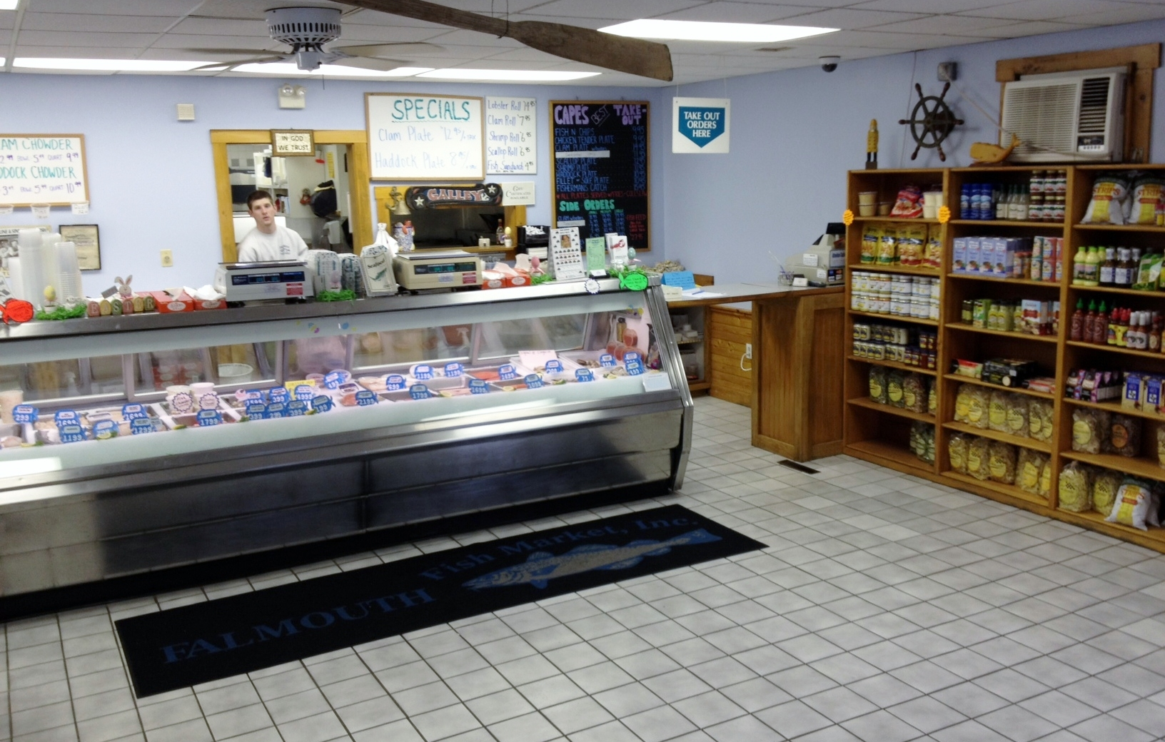 Falmouth fish market in teaticket ma whitepages for Fresh fish market houston