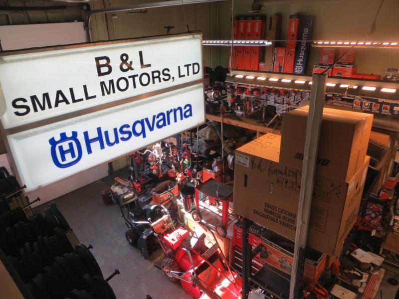 B & L Small Motors in Kamloops: Husqvarna dealer in Kamloops