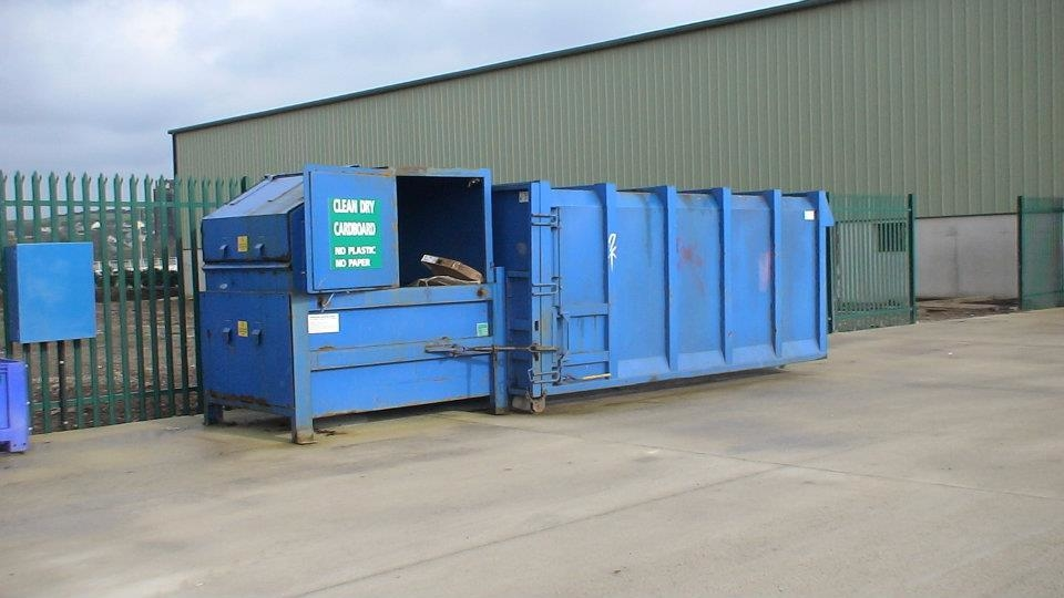Midleton skip hire ltd in midleton skip hire for Household waste recycling centre design