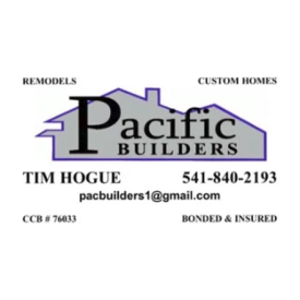 Pacific Builders Tim Hogue