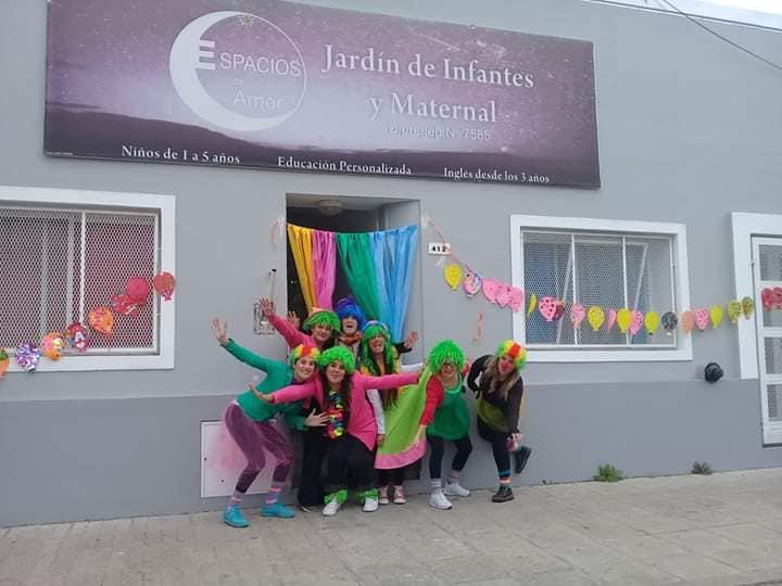 JARDIN DE INFANTES - JARDIN MATERNAL ESPACIOS DE AMOR