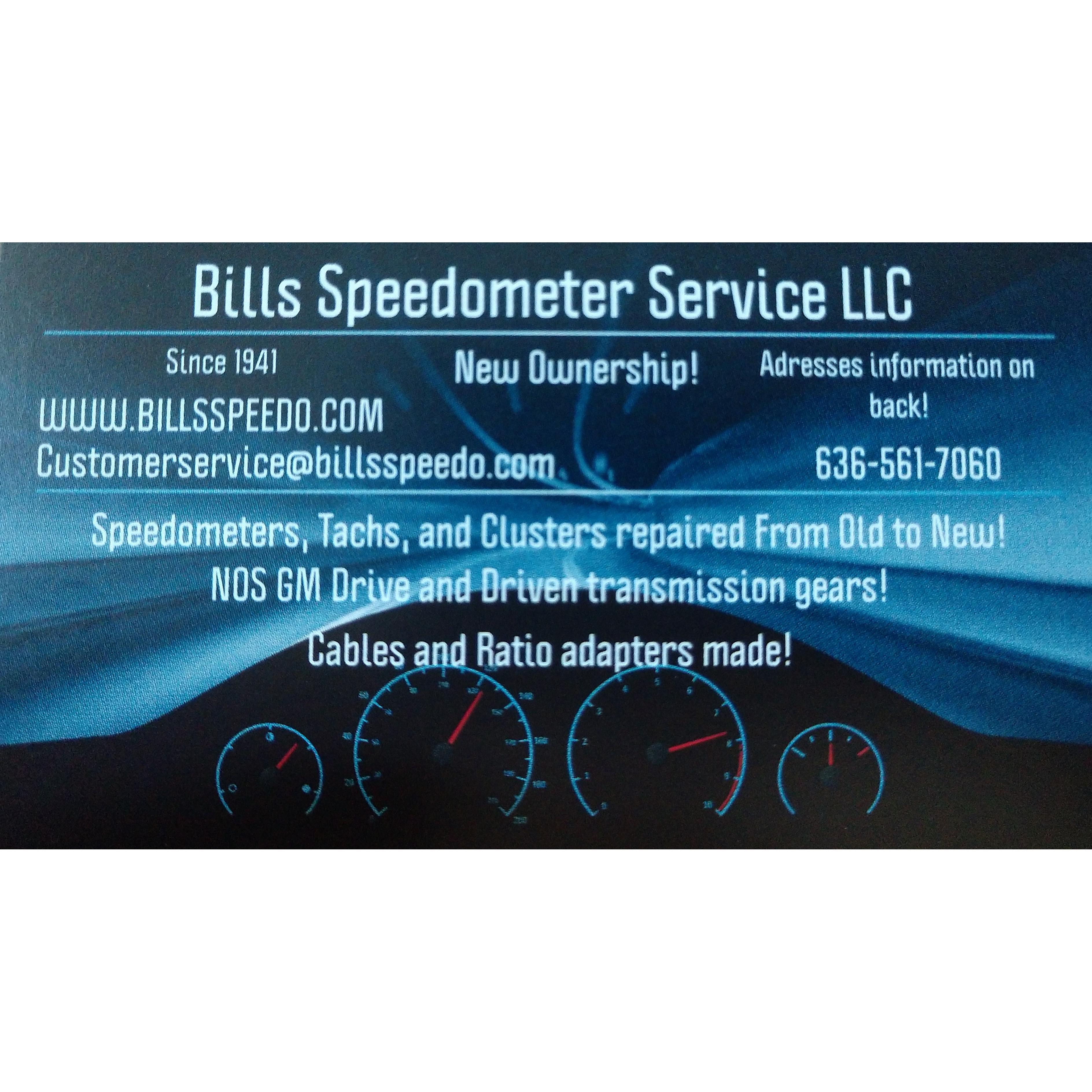 Bills Speedometer service
