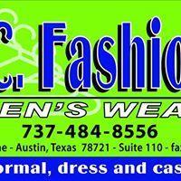 J.C. Fashions MEN'S WEAR