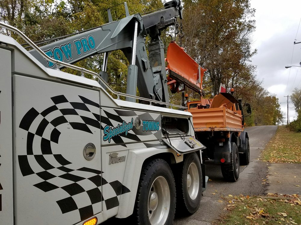 Davenports offers a variety of towing services.