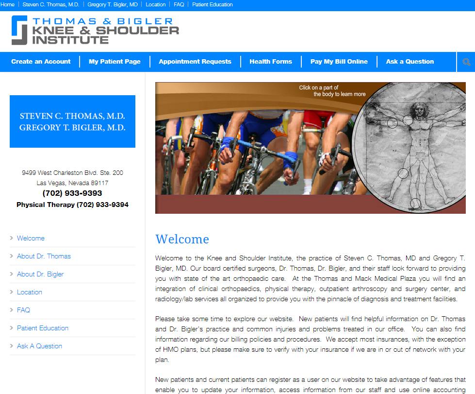 Thomas & Bigler Knee & Shoulder Institute image 8