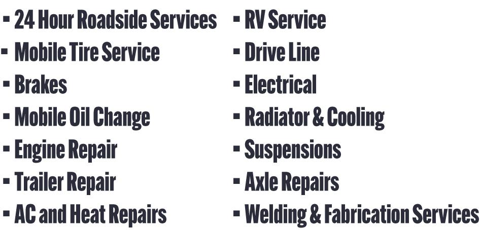 Cenla Trucking Repair and Maintenance
