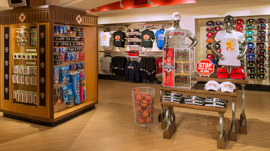 ESPN Clubhouse Shop
