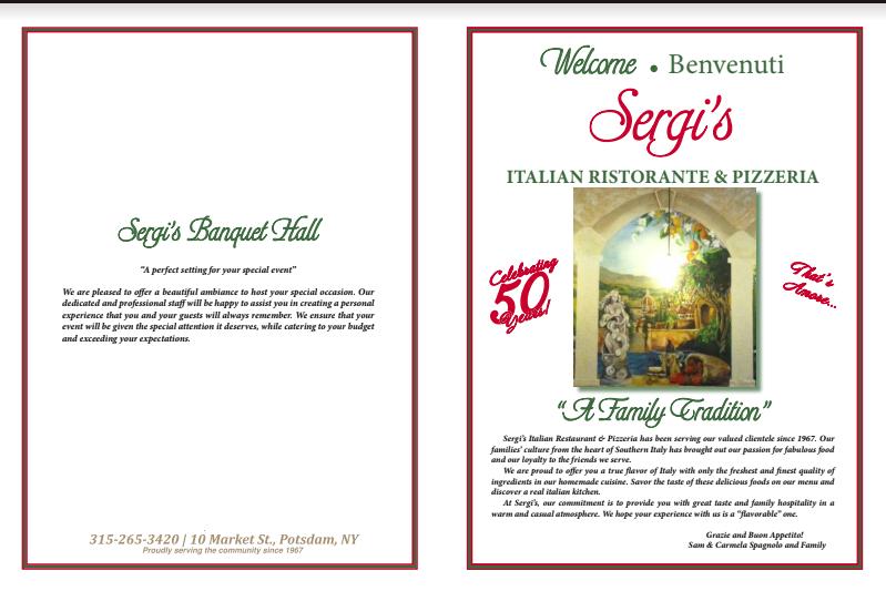 Sergi's Italian Restaurant,  Pizzeria & Banquet Hall image 2