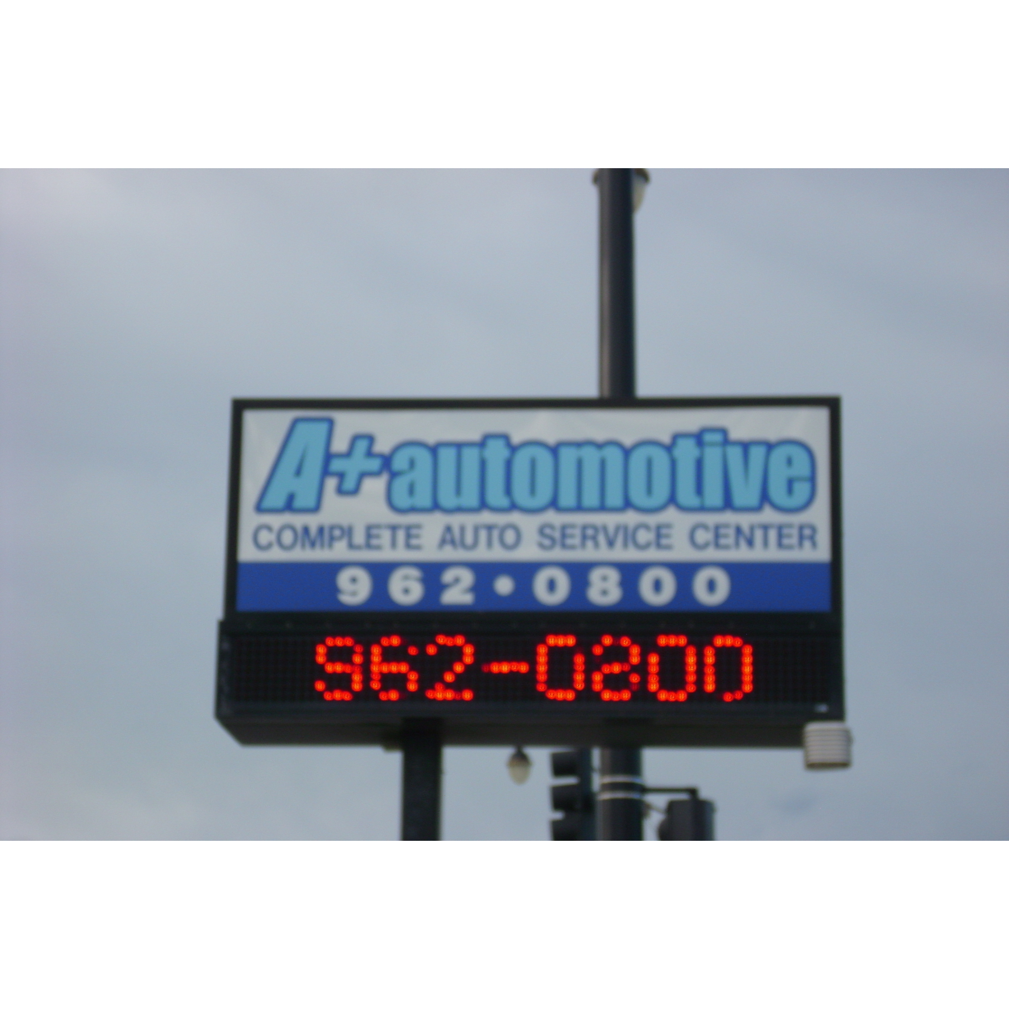 A PLUS AUTO - ad image