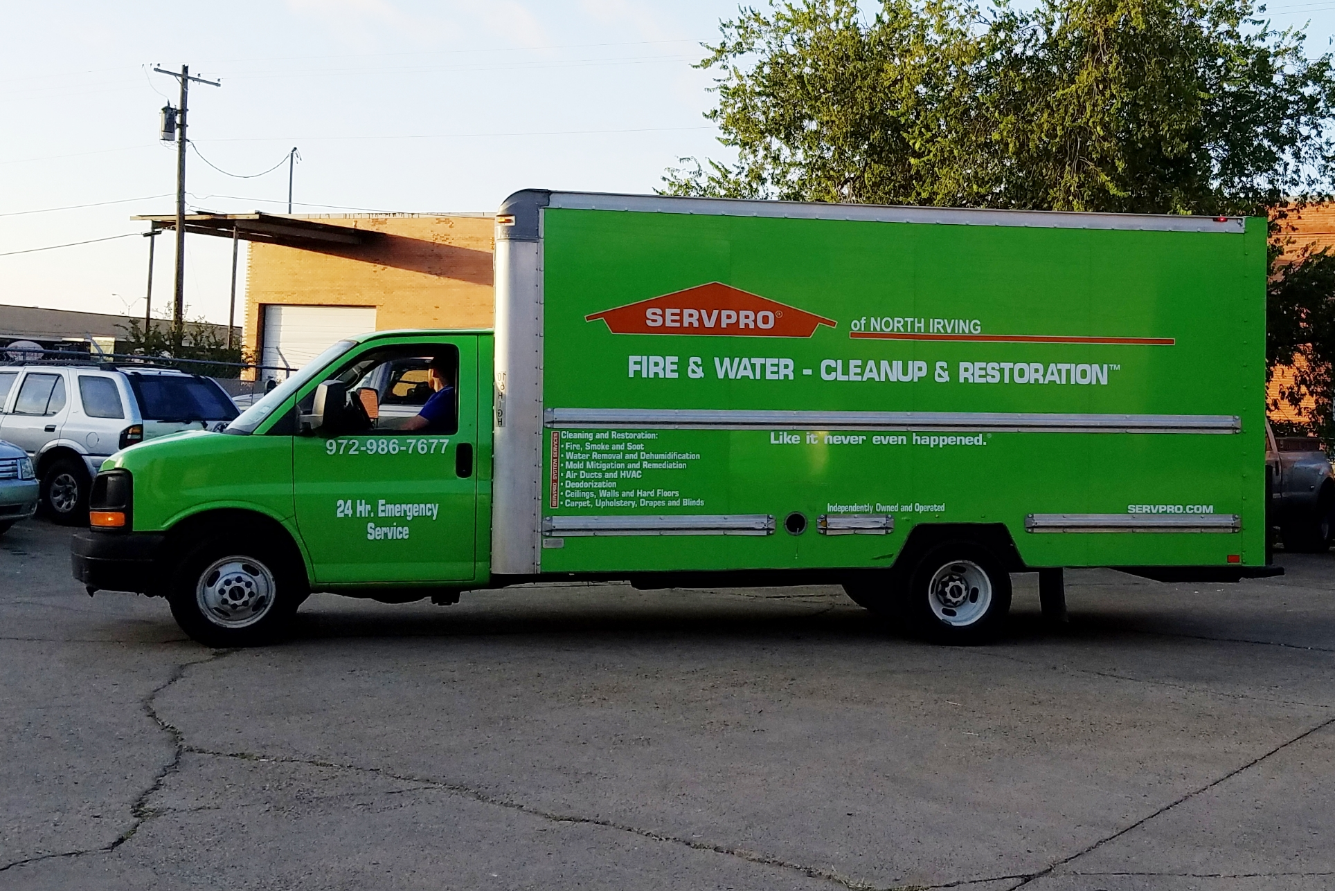 SERVPRO of North Irving