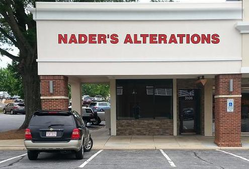 Nader 39 s alterations in greensboro nc 336 210 3 for Wedding dress shops in greensboro nc