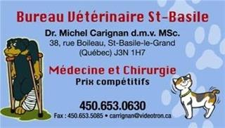 Bureau Vétérinaire St-Basile à Saint-Basile-Le-Grand