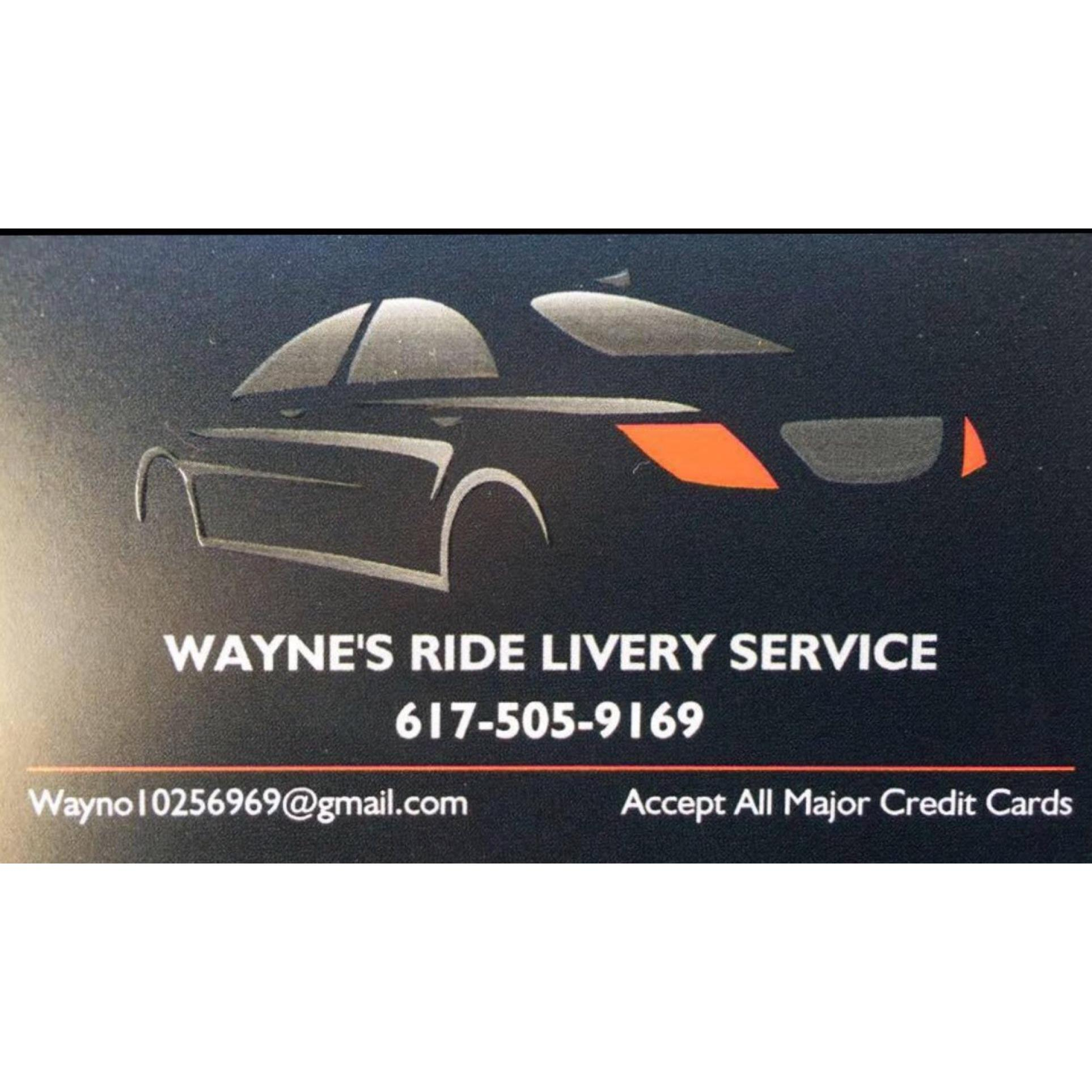 Wayne's Ride Livery Inc.