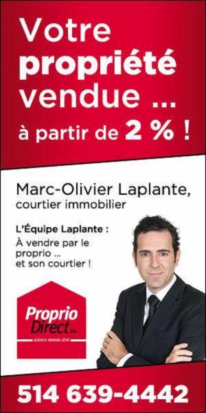 L'Équipe Laplante Proprio Direct
