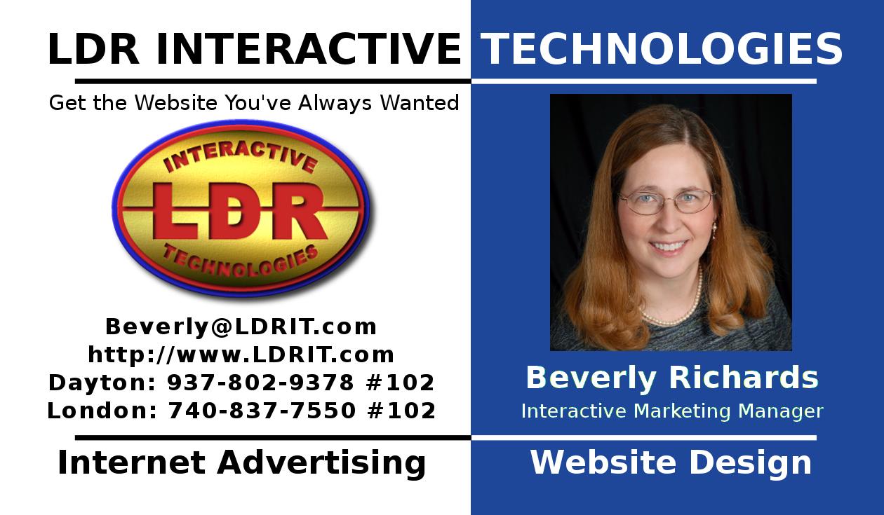 Ldr Interactive Web Designs Miamisburg Oh Company Profile