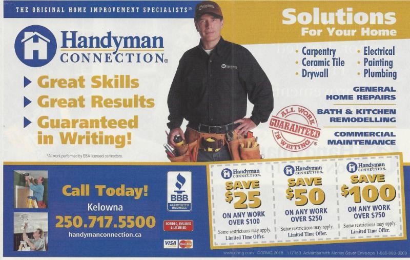 Handyman Connection in Kelowna