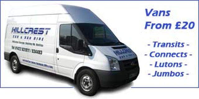 Hillcrest Car Van Hire Halifax