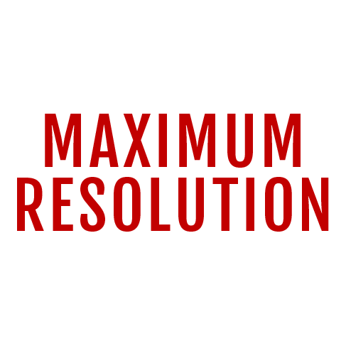 Maximum Resolution
