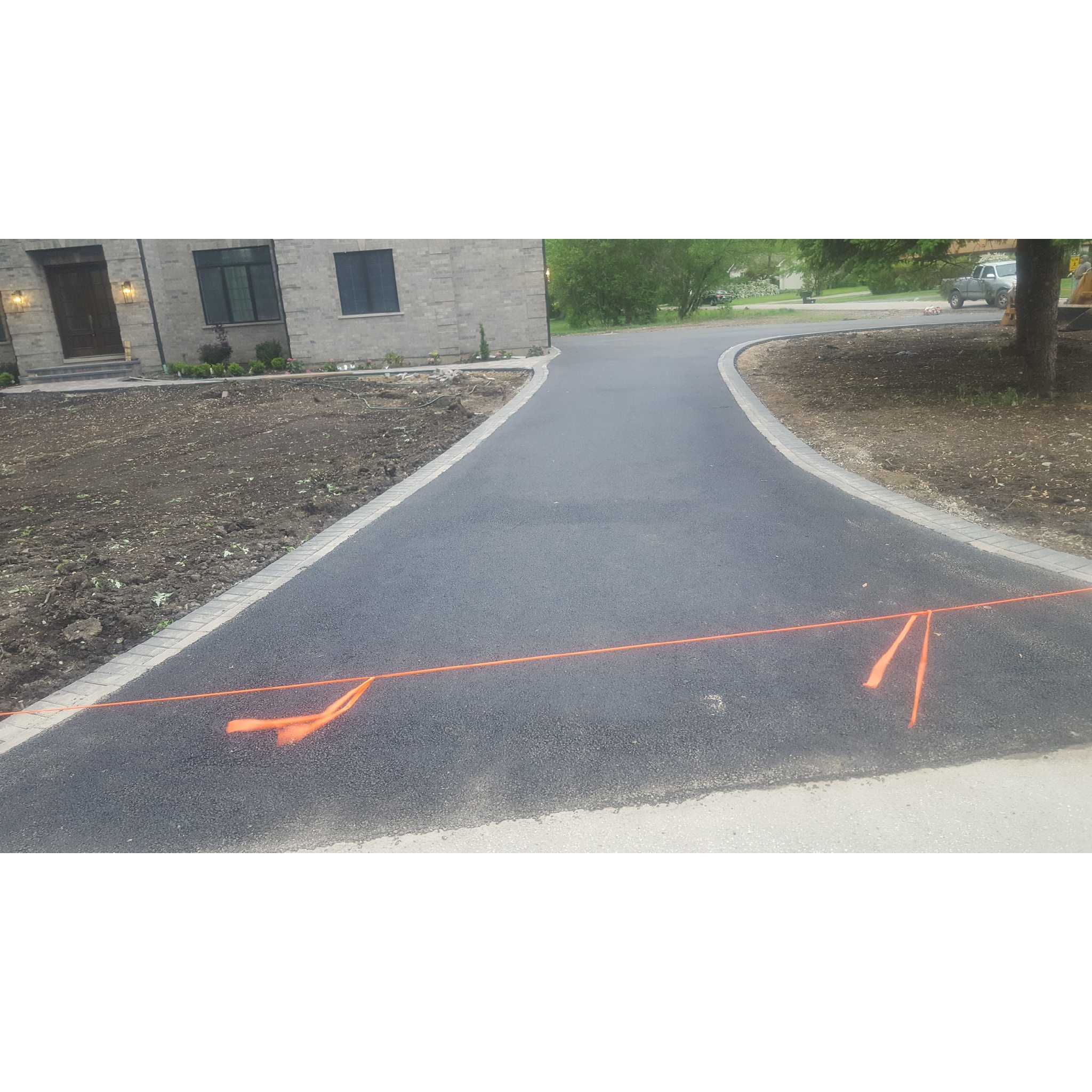 Asphalt  &  Brick Paving