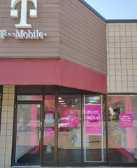 Exterior photo of T-Mobile Store at Ann Arbor Rd & Rocker Ave, Plymouth, MI