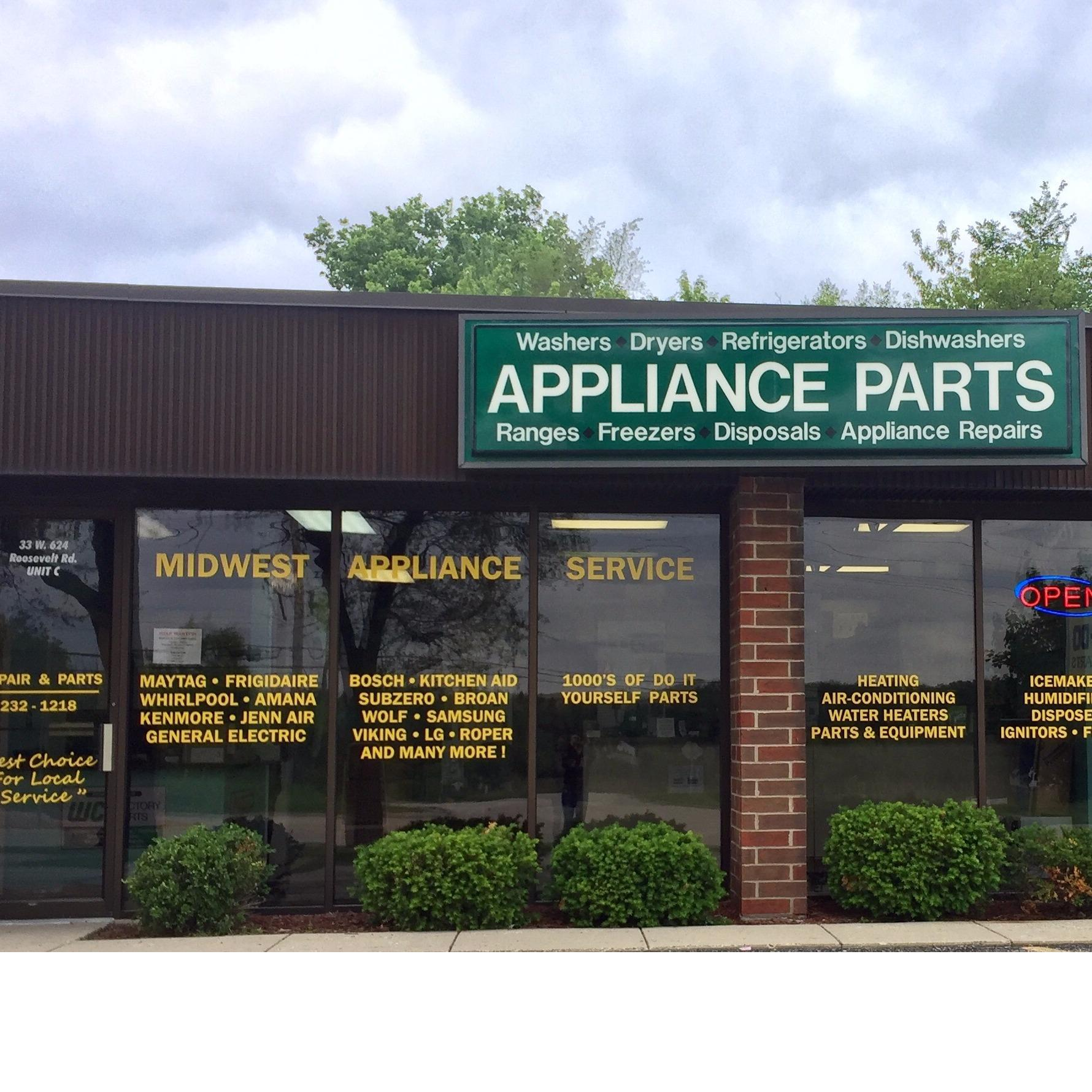 Midwest Appliance Parts is a real brick and mortar appliance parts company that has been in business for over half a century in Chicago, Illinois. We have survived this long in the appliance parts business because we have expert support, quality products, fast shipping and low prices.
