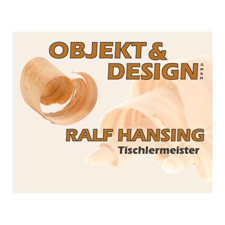 Logo von Objekt & Design GmbH Ralf Hansing