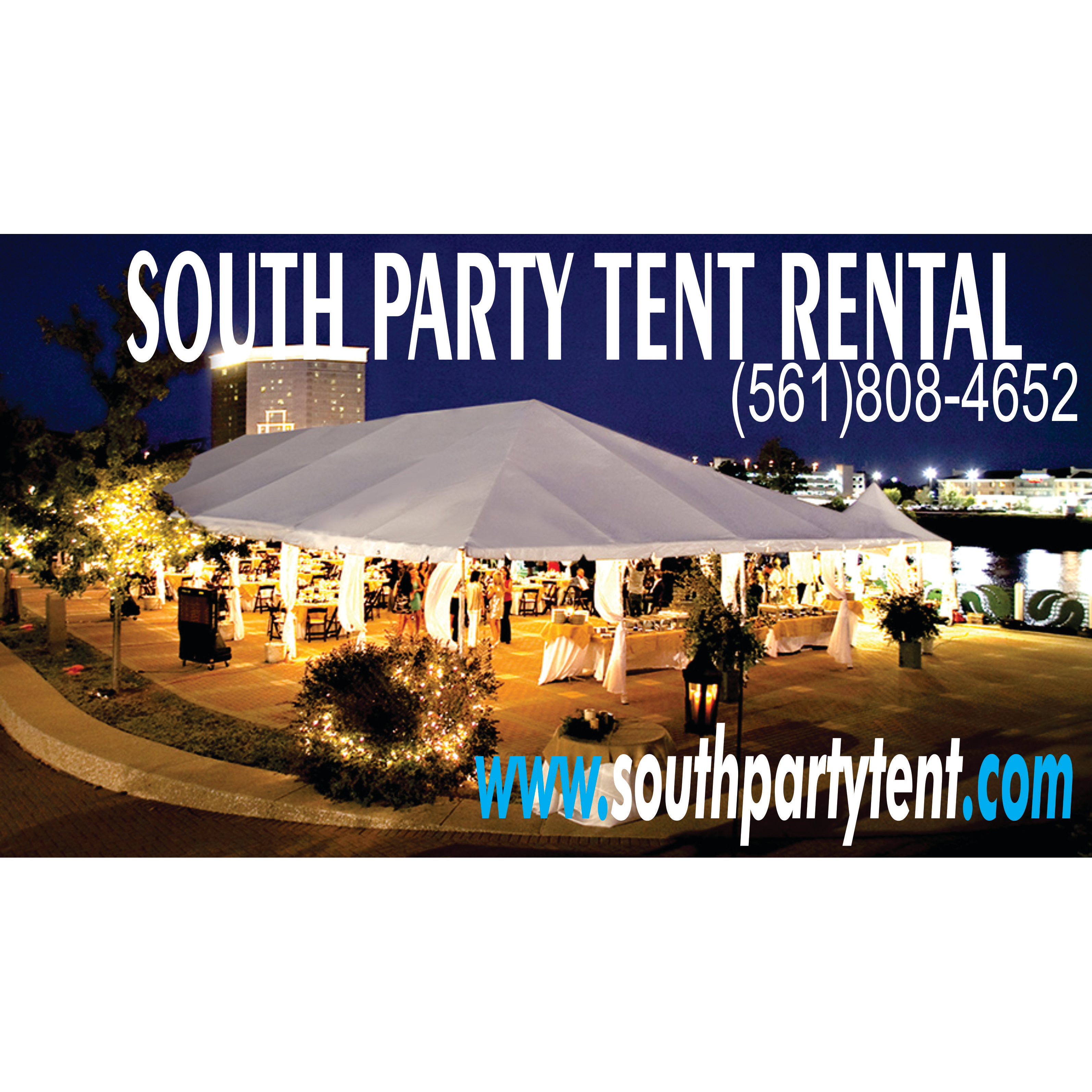 South party tent rental in west palm beach fl whitepages for Table 52 west palm beach