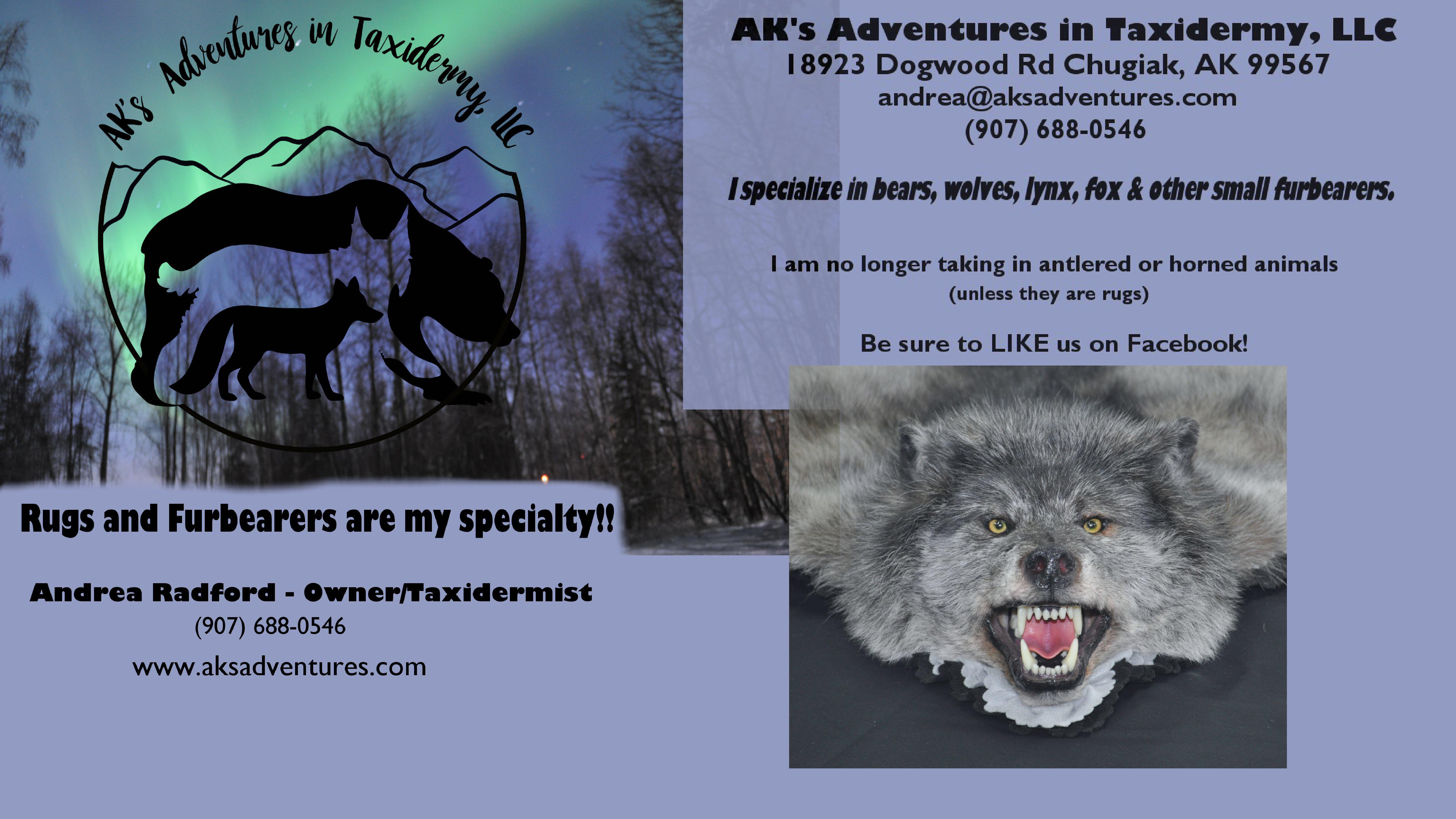 AK's Adventures in Taxidermy, LLC image 8